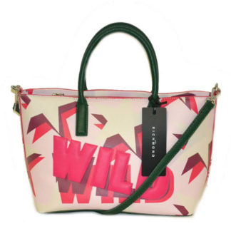 Borsa JOHN RICHMOND J16004 G64 PINK GREEN