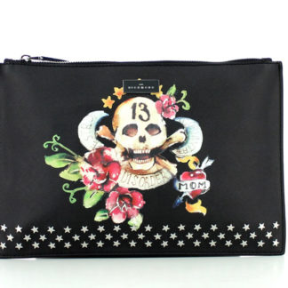 Borsa JOHN RICHMOND J10001 J01 BLACK SKULL