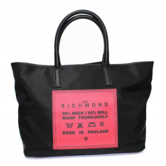 Borsa JOHN RICHMOND J06001 B02 BLACK RED