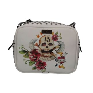 Borsa JOHN RICHMOND J10002 J03 WHITE SKULL