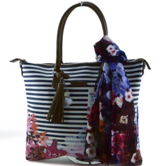 PASH BAG BORSA + PASHMINA MOD TOLOSA ART 4934 SEA STAR