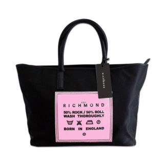 Borsa JOHN RICHMOND J06001 B09 BLACK FUXIA