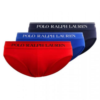 POLO RALPH LAUREN SLIP LOW RISE BRF-3 PACK-BRIEF ART 714662051001