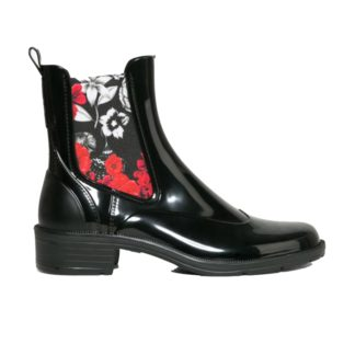 DESIGUAL SHOES MID RAIN BOOT BN&RED 17WSAPB9/2000