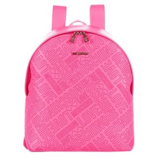 LOVE MOSCHINO BORSA EMBOSSED PU ROSA JC4030PP13LC0600