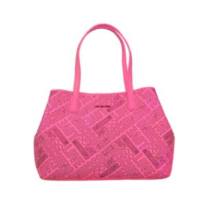 LOVE MOSCHINO BORSA EMBOSSED PU FUXIA JC4232PP03KC0604