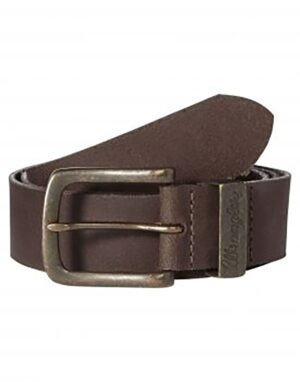 CINTURA WRANGLER METAL LOOP BROWN W0080US85
