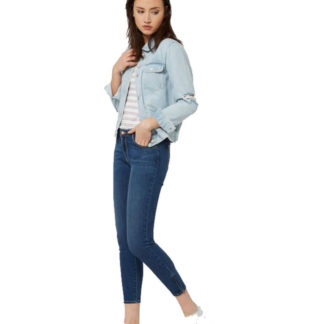 WRANGLER JEANS DONNA W225X796B SKINNY CROP NIGHT FEVER