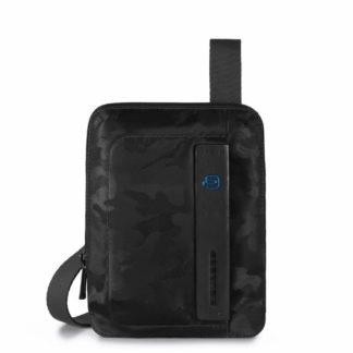 PIQUADRO Borsello porta iPad mini in tessuto e pelle P16Codice prodotto: CA3084P16-camon