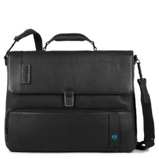 PIQUADRO Cartella porta PC con tasca frontale, scomparto porta iPad®Air/Pro 9,7 e porta ombrello PulseCodice prodotto: CA4179P15-N
