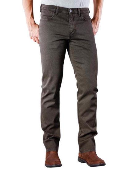 WRANGLER ARIZONA pantalone dark teak wash W12ODX74B
