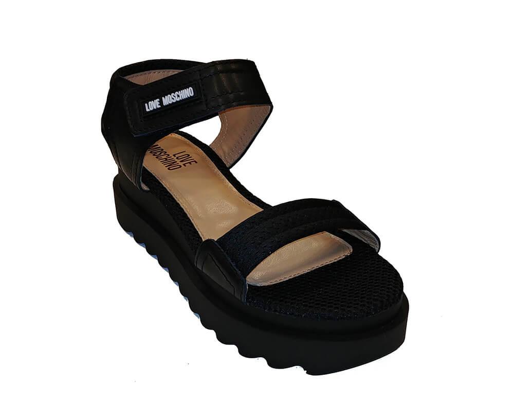 Love Moschino Sandalo Donna Nero Ja16275g05ja300a dxCsQthr