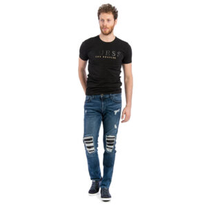 GUESS JEANS UOMO MIAMI SUPERSKINNY M74AN1 D2NU2