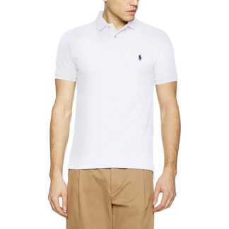 Polo Ralph Lauren POLO SLIM FIT 710548797001 Bianco