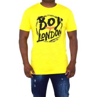 BOY LONDON T SHIRT BL1390 GIALLO