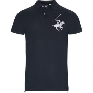 BEVERLY HILLS POLO CLUB POLO PIQUET BHPC3803 BLUE