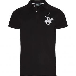 BEVERLY HILLS POLO CLUB POLO PIQUET BHPC3803 BLACK