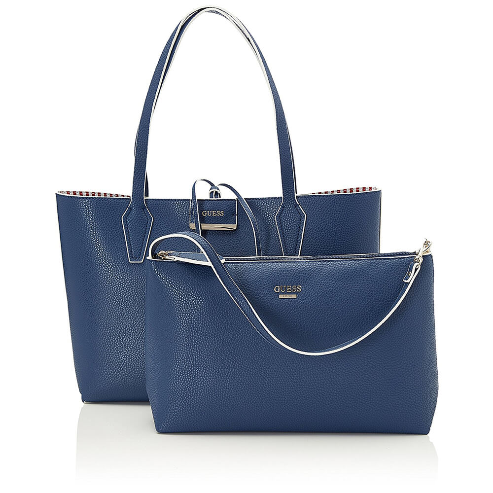 GUESS BORSA BOBBY INSIDE OUT TOTE HWNS64 22150 BLU