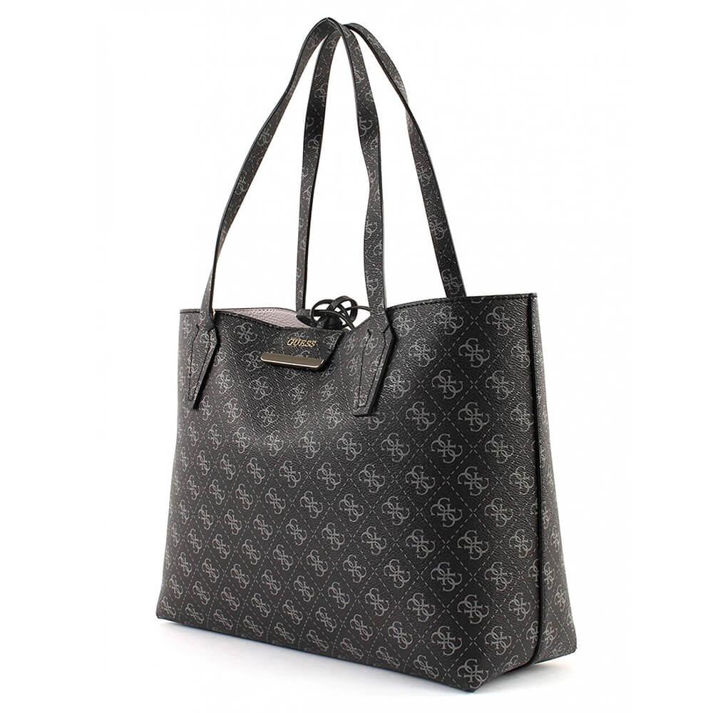 Guess Handtasche Bobbi HWQL64 22150 CLG Coal Logo Grey