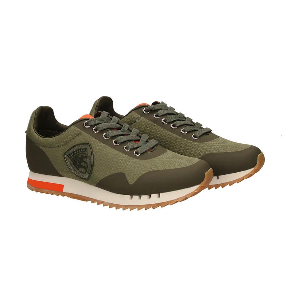 Militare Sneakers Usa Blauer Verde 8sdetroit04mes Uomo W2IY9EDH