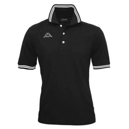 POLO KAPPA UOMO PIQUET MARE SPORT TENNIS CALCIO T-shirt MALTAX 302MX50 5 MSS COL 005 Black