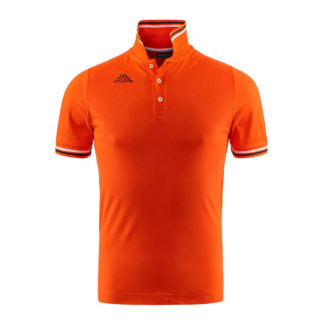POLO KAPPA UOMO PIQUET MARE SPORT TENNIS CALCIO T-shirt MALTAX 302MX50 5 MSS COL C61 ORANGE-BLU-WHITE