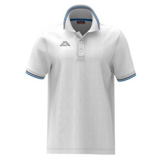 POLO KAPPA UOMO PIQUET MARE SPORT TENNIS CALCIO T-shirt MALTAX 302MX50 5 MSS COL A78 White-blue-blue Navy