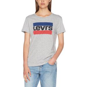 LEVI'S T SHIRT donna ART 173690303 grigio