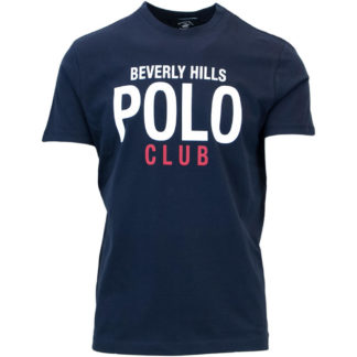 BEVERLY HILLS POLO CLUB T SHIRT BHPC3883 BLU