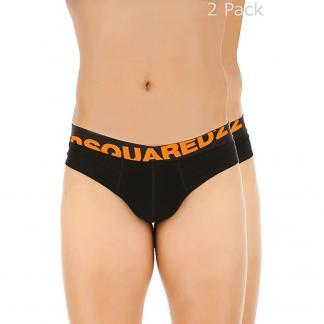 DSQUARED2 BI-PACK SLIP D9X611850 200 NERO