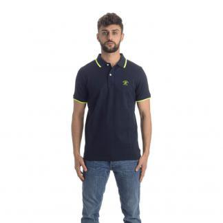 BEVERLY HILLS POLO CLUB POLO PIQUET BHPC3806 BLU