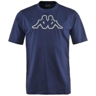 KAPPA T SHIRT CROMEN 300HWR0 193 BLUE MARINE