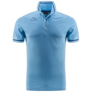 POLO KAPPA UOMO PIQUET MARE SPORT TENNIS CALCIO T-shirt MALTAX 302MX50 5 MSS COL G20 Azzurro