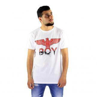 BOY LONDON T SHIRT BL1372 BIANCO