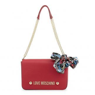 LOVE MOSCHINO BORSA BONDED PU ROSSO JC4121PP16LV0500