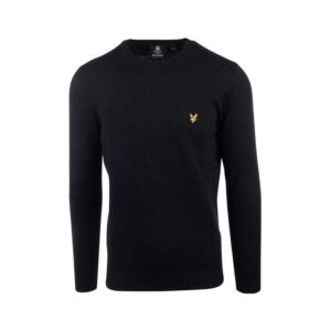 LYLE & SCOTT FELPA CREW NECK ML424VTR 572 BLACK