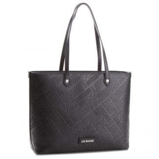 LOVE MOSCHINO BORSAEMBOSSED PU NERO JC4029PP16LE0000