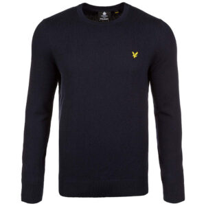 LYLE & SCOTT PULL Cotton Merino Jumper KN400VC Z271 DARK NAVY