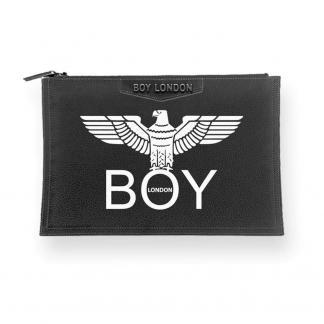 BOY LONDON POCHETTE ECOPELLE STAMPA BLA210 NERO