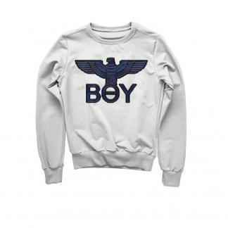 BOY LONDON FELPA BLU5110 BIANCO