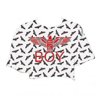 BOY LONDON FELPINA CORTA BL1180 BIANCO