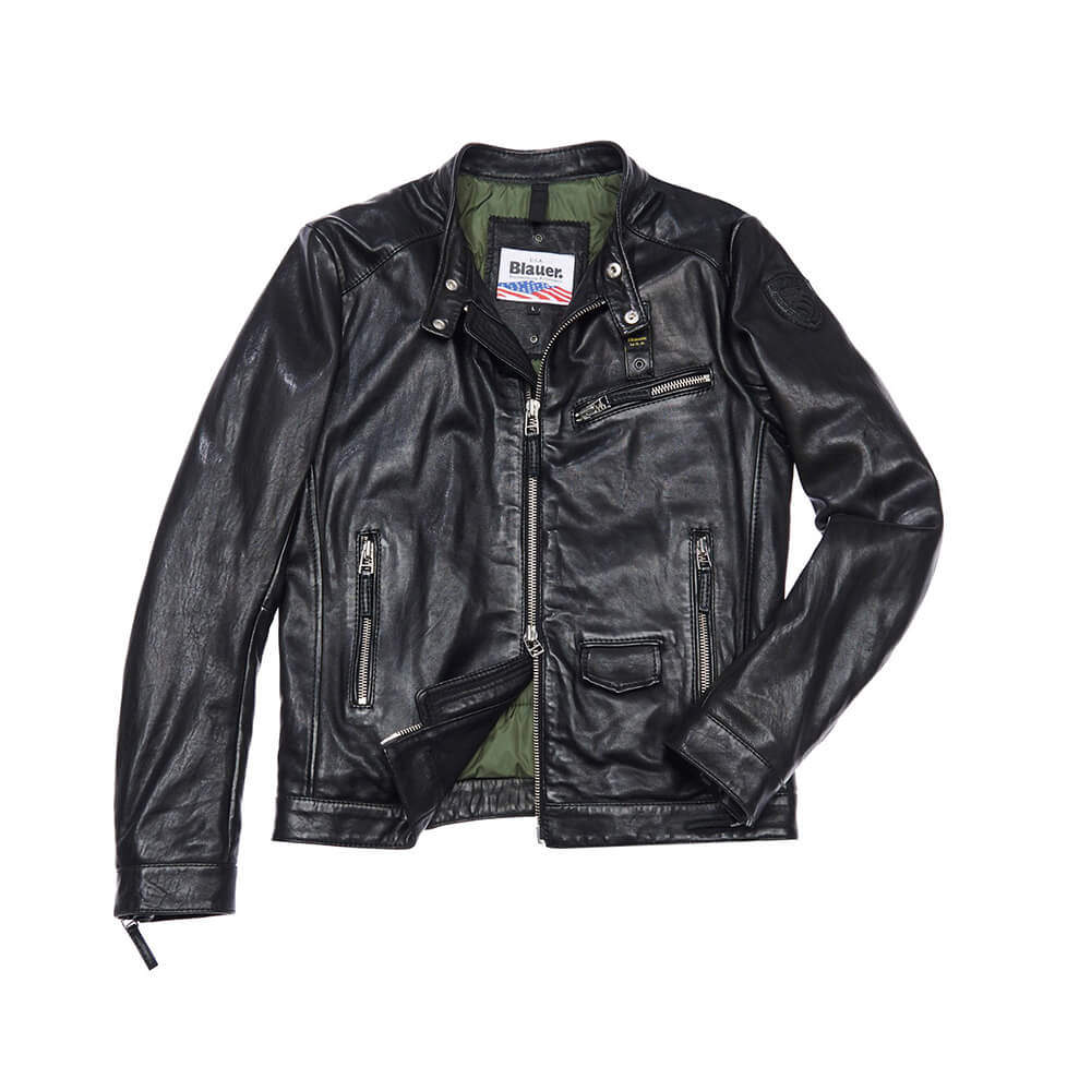 BLAUER LEATHER JACKET   Giacca, Pelle