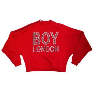 BOY LONDON FELPA DONNA BLD1723 RUBINO