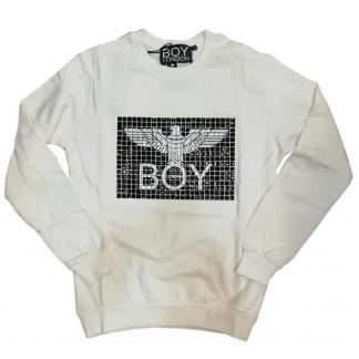 BOY LONDON FELPA BLU5091 WHITE