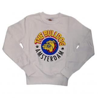 THE BULLDOG AMSTERDAM FELPA TBDA068 WHITE