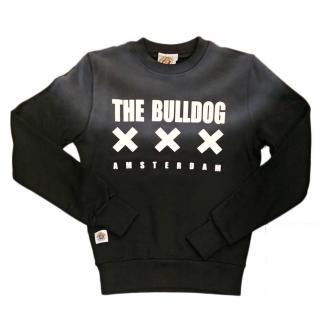 THE BULLDOG AMSTERDAM FELPA TBDA153 NERO