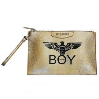 BOY LONDON POCHETTE ECOPELLE STAMPA BLA210 ORO