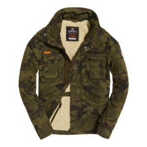 SUPERDRY Giacca Classic Rookie Military Hurricane M50000NR CAMO