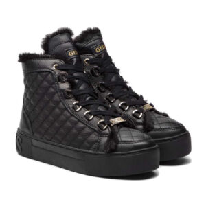 GUESS SNEAKERS DONNA FLMEE4 LEA12 BLK
