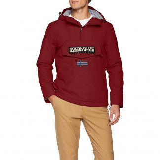 NAPAPIJRI RAINFOREST UOMO WINTER 1 N0YGNJR69 RED BOURGOGNE